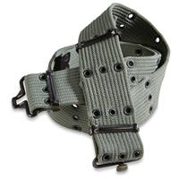 Italian Military Issue Pistol Belts, WW2-Era, 2 Pack, New