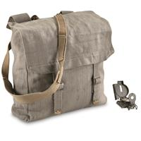 British Military Surplus M37 Canvas Pack, Used, Gray