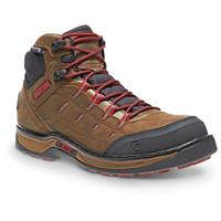Wolverine Men's Edge LX EPX Work Boots, Waterproof, Brown Red