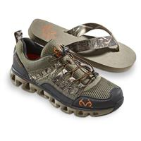 Realtree Men's Tide Water Shoes with BONUS Flip Flops