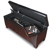 American Furniture Classics Gun Concealment Bench • ...an arsenal on the inside!