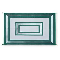 Guide Gear Reversible Patio Mat, 9' x 12', Cream / Green