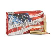 Hornady American Whitetail, .308 Winchester, Interlock SP, 165 Grain, 20 Rounds