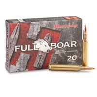 Hornady Full Boar, .25-06 Remington, GMX, Lead-Free, 90 Grain, 20 Rounds