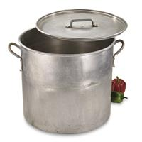 Swedish Military Surplus Aluminum Stock Pot, Used