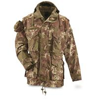 Mil-Tec Men's Hooded Vegetato Tactical Jacket
