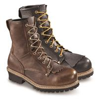 Guide Gear Men's Sawtooth Logger Boots