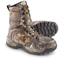 "Buck Commander Men's Scout 10"" Hunting Boots, Waterproof, 200 Gram Thinsulate, Realtree Xtra"