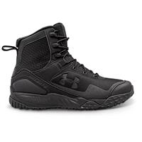 Under Armour Men's Valsetz RTS Side Zip Tactical Boots, Black