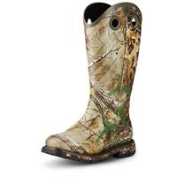 Ariat Men's Conquest Western Buckaroo Insulated Rubber Boots, Realtree Xtra