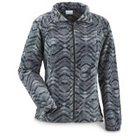 Columbia Women's Benton Springs Print Full Zip Fleece Jacket, Black Navajo