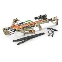 SA Sports Empire Aggressor 390 Crossbow Kit, Kryptek Camo