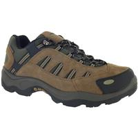 Hi-Tec Bandera Men's Low Hiking Boots, Waterproof, Bone / Brown / Mustard