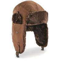 Men's Igloos Insulated Trapper Hat, Brown