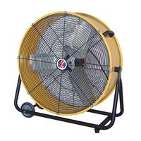 Q Standard 2 Speed Classic Cooler Drum Fan, 23""