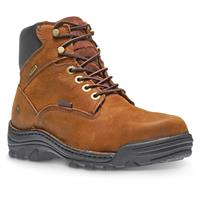 "Wolverine Men's Durbin 6"" Waterproof Work Boots, Brown"