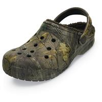 Crocs Unisex Realtree Xtra Camo Winter Clogs, Chocolate