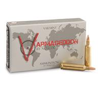 Nosler Varmageddon, .22-250 Remington, FBHP, 55 Grain, 20 Rounds