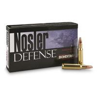 Nosler Defense Rifle, 6.8 Remington SPC, Bonded Solid Base, 90 Grain, 20 Rounds