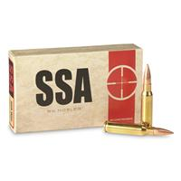 Nosler SSA, .308 Winchester, Custom Competition, 168 Grain, 20 Rounds