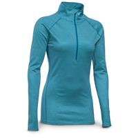 Under Armour Women's ColdGear Infrared Evo 1/2-Zip Hoodie, Peacock