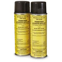 US Military Issue Permethrin Spray Insect Repellent, 2 Pack