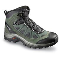 Salomon Men's Authentic LTR GTX Hiking Boots, Waterproof, Asphalt / Night
