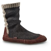 Acorn Men's Slouch Boots, Charcoal