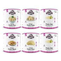 Augason Farms Potato Variety Emergency Food Storage, 6 Pack
