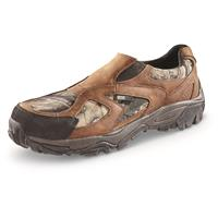Guide Gear Men's Arrowhead Slip-on Shoes, Waterproof, Mossy Oak Break-Up Country
