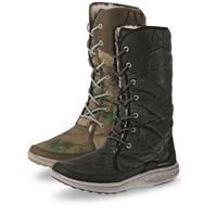 Merrell Women's Pechora Peak Winter Boots, Turbulence / Taupe