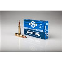PPU, 8x57 IRS, SP, 196 Grain, 20 Rounds