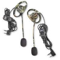 Midland AVPH7 Camo Headset with Boom Microphones, 2 Pack