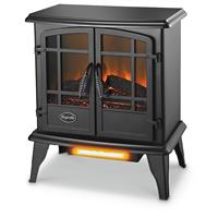 Comfort Glow Keystone Quartz Electric Stove Heater