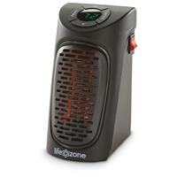 Life Zone Wall Outlet Personal Space Heater