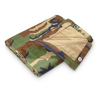 HQ ISSUE Camo Canvas Tarp