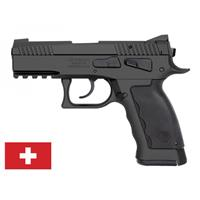 "Kriss USA Sphinx SDP Compact Black Duty, Semi-Automatic, 9mm, 3.7"" Barrel, 17+1 Rounds"