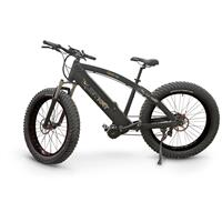 QuietKat FatKat Electric Mountain Bike, Black