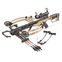 Bear Archery Fisix FFL Crossbow Kit, Sand