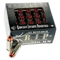 G2 Research RIP, 10mm, HP Lead-free, 115 Grain, 20 Rounds