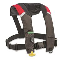 Kent M-33 Manual Inflatable Life Jacket, Red