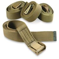 "U.S. Military Surplus 72"" Web Straps, 4 Pack, New"
