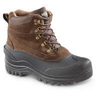 Guide Gear Men's Insulated Winter Boots, 600 Gram Thinsulate, Brown