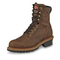 "Irish Setter Men's Mesabi Waterproof 8"" Logger Boots, Brown"