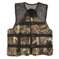 Onyx Adult Sports Life Vest in Realtree Max-5 Camo