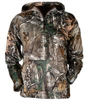 Gamehide Men's HECS Quarter Zip Hoodie, Realtree Xtra