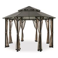 CASTLECREEK Hard Top Gazebo, 9.6' x 13'