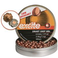 H&N Excite Smart Shot, .177 Caliber, Copper-Plated Lead BBs, 7.4 Grain, 500 Count