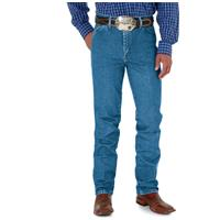Wrangler Men's George Strait Cowboy Cut Slim Fit Jeans, Stonewashed