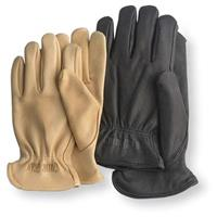 Guide Gear Men's Leather Gloves, Natural / Black